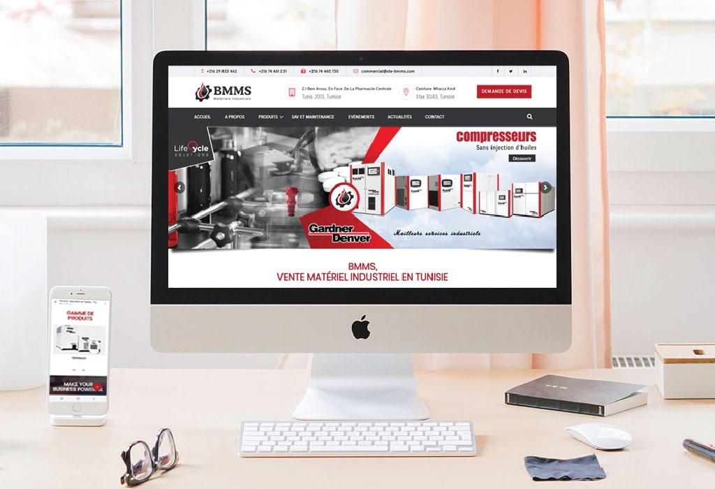 Création d'un site web pour :BMMS