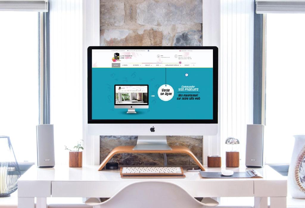 Création d'un site web pour : Habitat