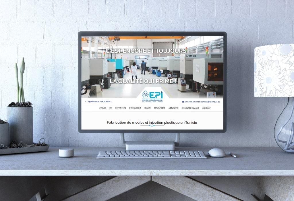 Création d'un site web pour : EPI