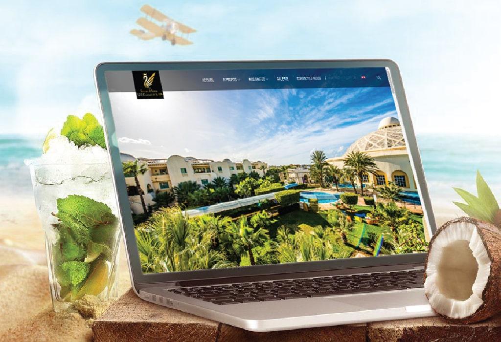 Création d'un site web pour les Suites Hôtel Les Charmilles