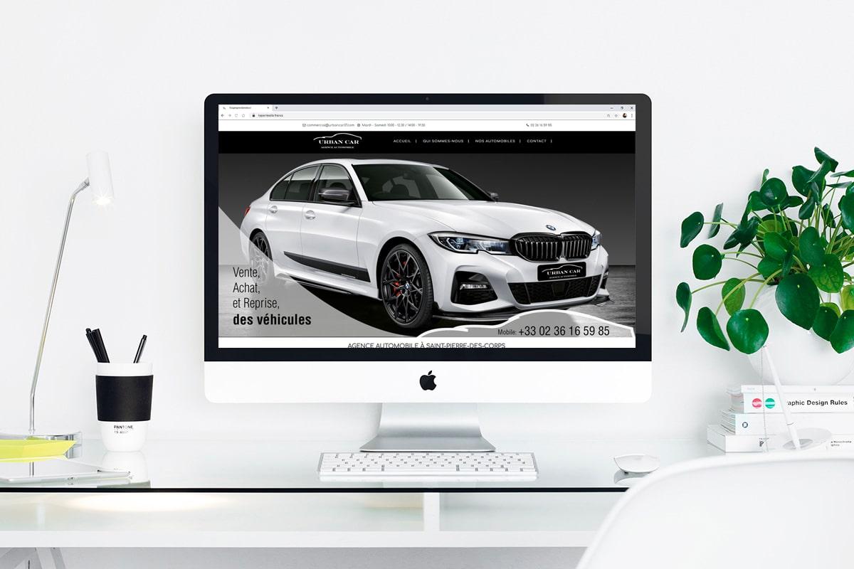 Création d'un site web pour: Urban Car
