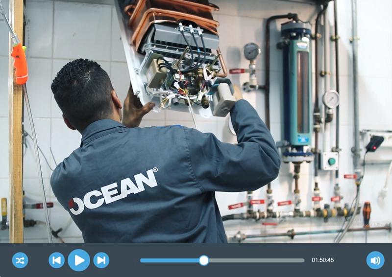 Vidéo de Présentation de la société «OCEAN»
