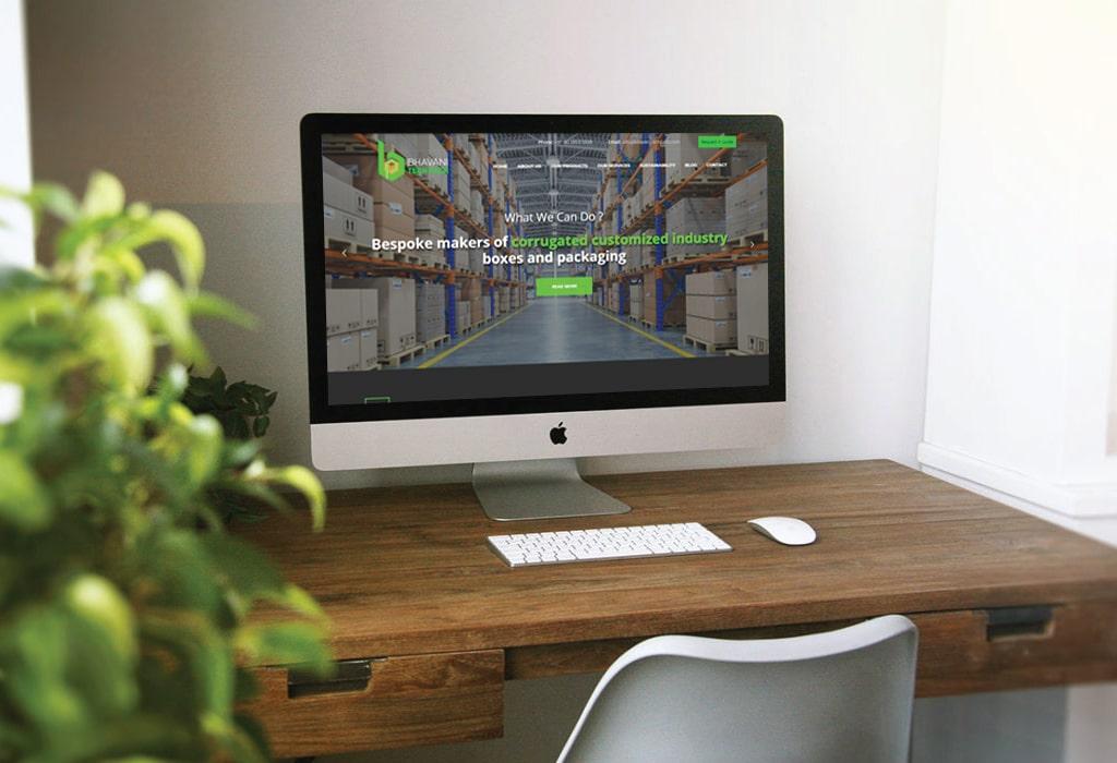 Création d'un site web pour : Bhavani Pack
