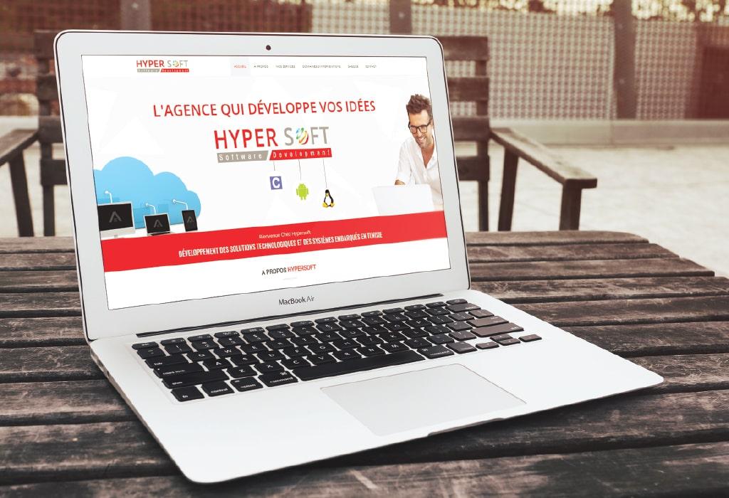 Création d'un site web pour : Hypersoft