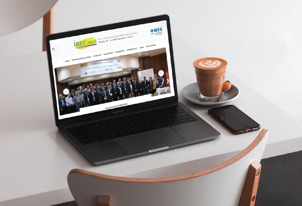 Création d'un site web pour : Irec