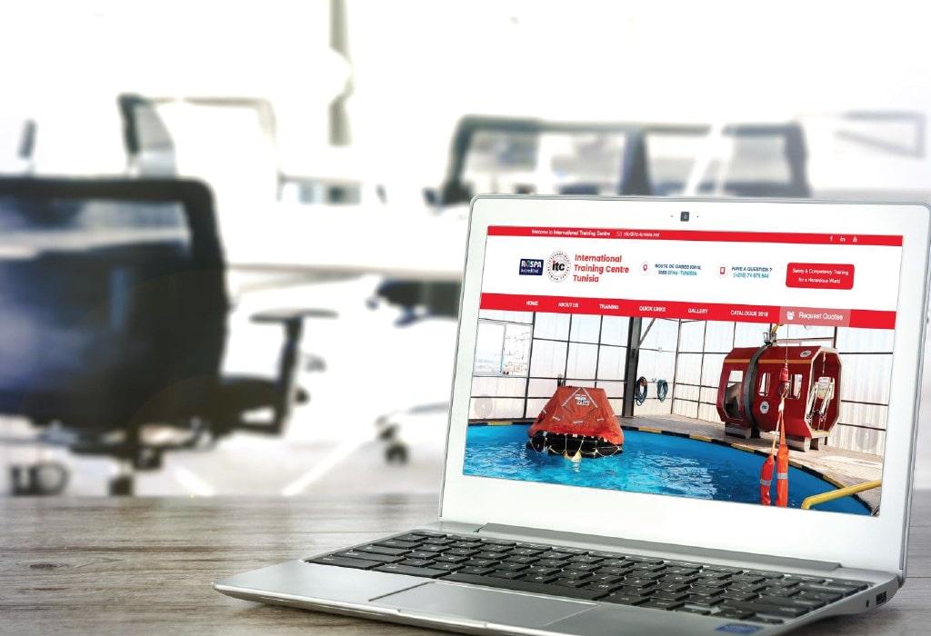 Création d'un site web pour : ITC