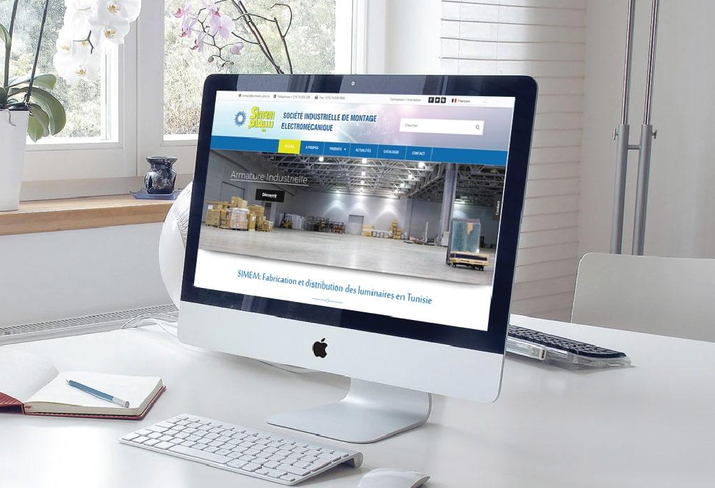 Création d'un site web pour : SIMEM