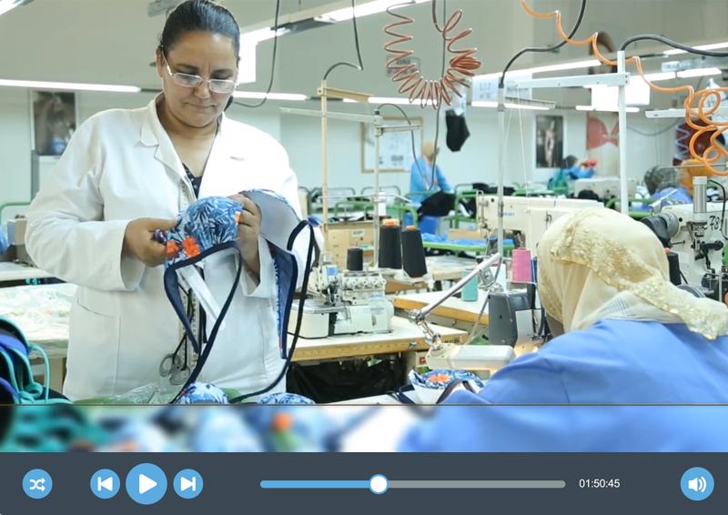 Vidéo de présentation de la société «CIS Confection»