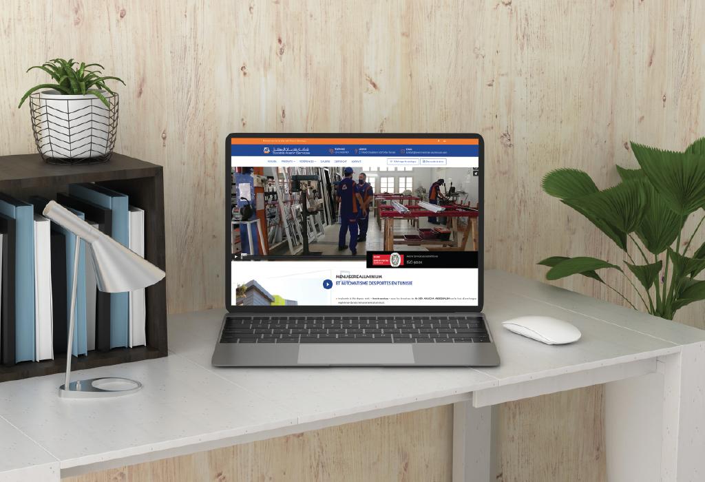 Création site web entreprise pour Société Avenir Services