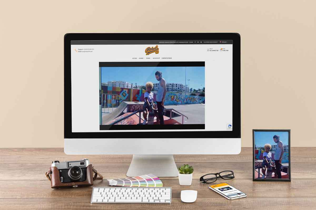 Site E-commerce Rebels99