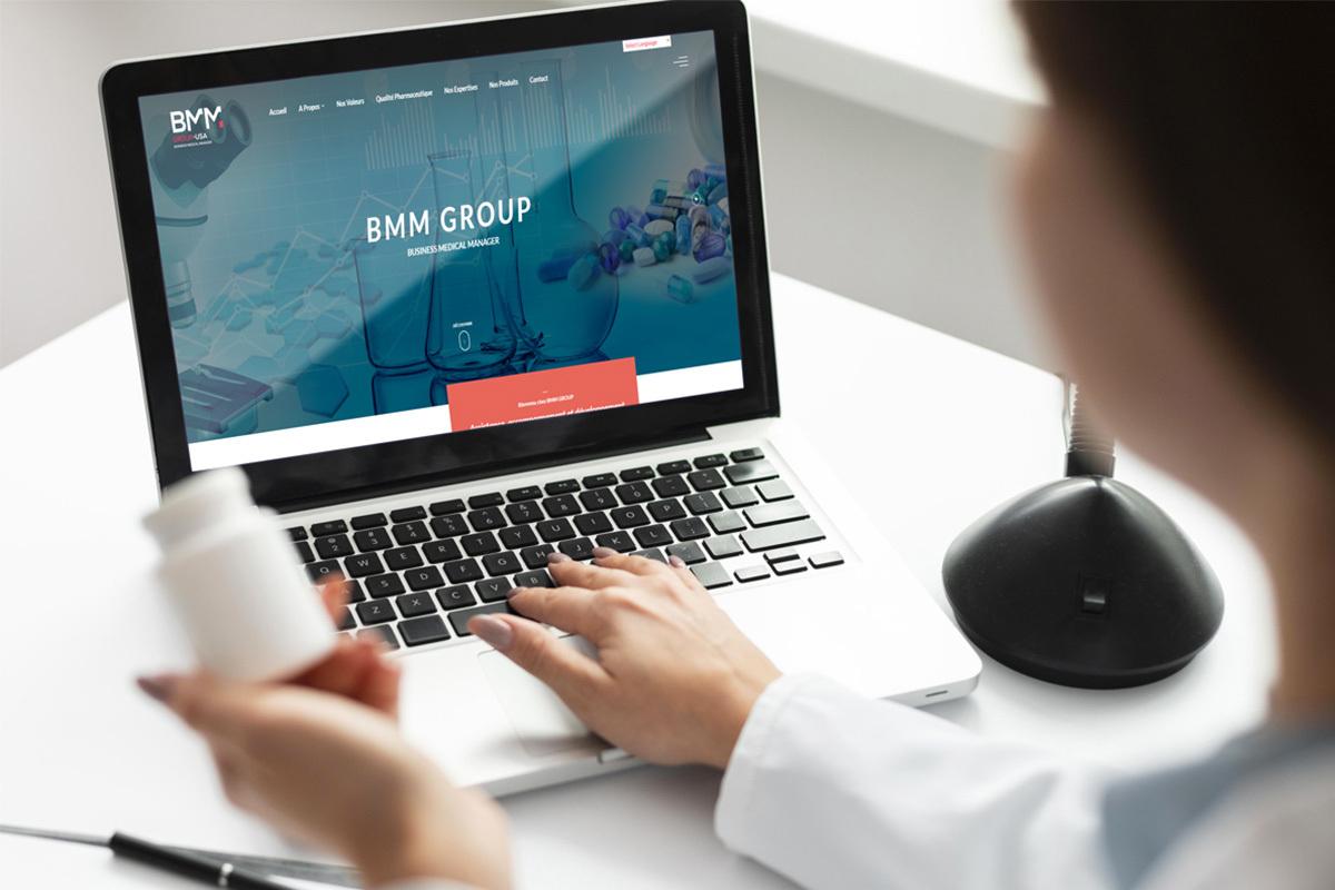 Création site web pour BMM Group