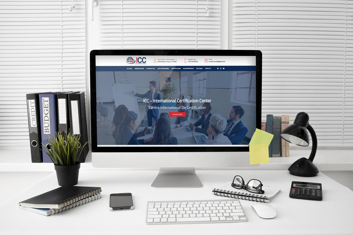 Création site web pour ICC